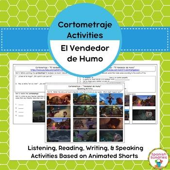 Cortometraje Activities:  El Vendedor de Humo