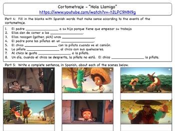 Cortometraje Activities:  Hola Llamigo