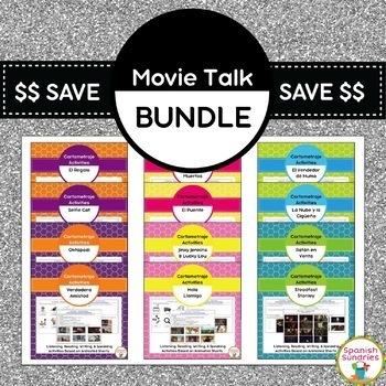 Cortometraje / Movie Talk Activity Bundle