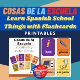 Cosas de la Escuela - Learn Spanish School Things with Fla