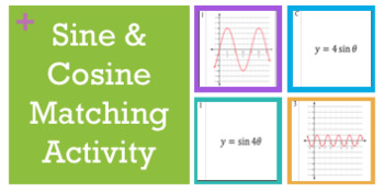 Cosine and Sine Matching Graph Activity