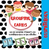 Cosmetology Grouping Cards