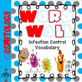 Cosmetology Infection Control Word Wall