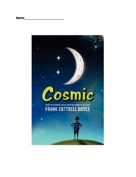 Cosmic (Boyce) Novel Unit - Higher Order Thinking Questions