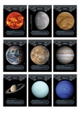 Cosmic Collector Cards - Solar System