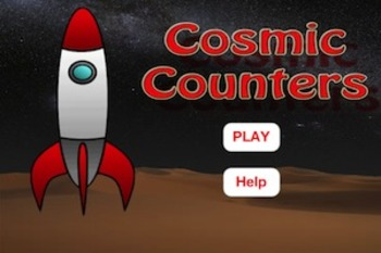 Cosmic Counters - Learn to count using Common Core Standards