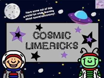 """""""Cosmic"""" Limericks - An """"Out Of This World"""" Creative Poetry Project!"""