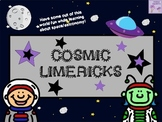 """Cosmic"" Limericks - An ""Out Of This World"" Creative Poetry Project!"