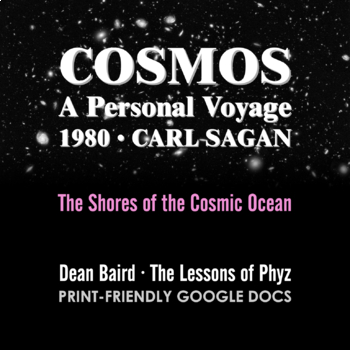 Cosmos 1980 Episode I: The Shores of the Cosmic Ocean