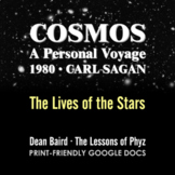 Cosmos 1980 Episode IX: The Lives of the Stars