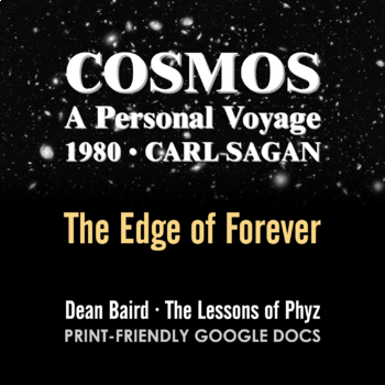 Cosmos 1980 Episode X: The Edge of Forever