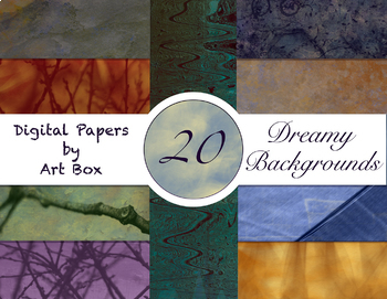 Cosmos - 20 Dreamy Digital Papers
