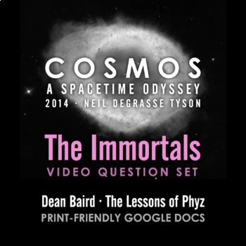 Cosmos 2014 Episode 11: The Immortals