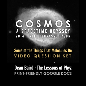 Cosmos 2014 Episode 2: Some of the Things That Molecules Do