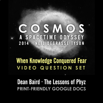 Cosmos 2014 Episode 3: When Knowledge Conquered Fear