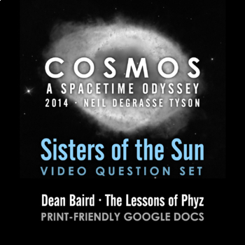 Cosmos 2014 Episode 08: Sisters of the Sun
