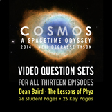 Cosmos: A Spacetime Odyssey - Video Question Sets