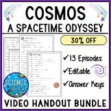 Cosmos A Spacetime Odyssey Video Worksheet Bundle