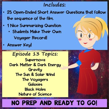 Cosmos Worksheet Episode 13: Unafraid of the Dark - Cosmos a Spacetime Odyssey