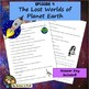 Cosmos Worksheet Episode 9: The Lost Worlds of Planet Earth - Spacetime Odyssey