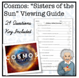 Cosmos: Sister of the Sun Worksheet