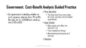 Cost-Benefit Analysis UNIT