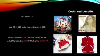 Cost and Benefit, Scarcity