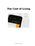 Cost of Living & Budgeting: Big Pack (Word doc)