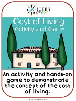 Cost of Living Activity and Game