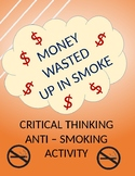 Cost of Smoking Activity - Great Red Ribbon Week Activity