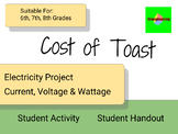 Cost of Toast - STEM Electricity Wattage Calculation