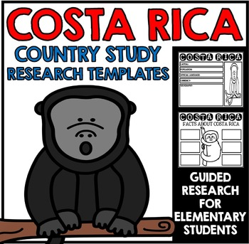 Costa Rica Country Study Research Project Templates