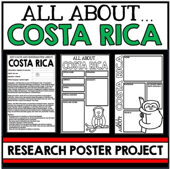 Costa Rica - Facts and Information about Costa Rica - Guided Research Project
