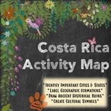 Costa Rica Activity Map (ALL Spanish Levels)