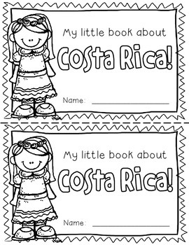 Costa Rica Booklet (A Country Study!)