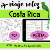Costa Rica Comprehensible Spanish Reading about Costa Rica Viaje Veloz