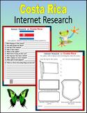 Costa Rica (Internet Research) - Print + Digital Activity