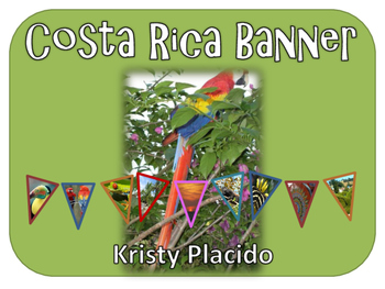 Costa Rica Pennant Banner