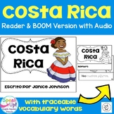 Costa Rica Reader {en español} & Vocab pages ~ Simplified for Language Learners