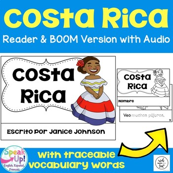 Costa Rica Reader {en español} & Vocab pages ~ Simplified