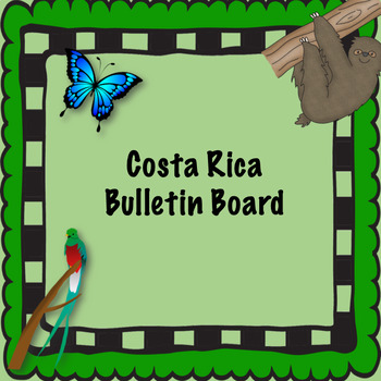 Costa Rica bulletin board