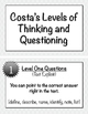 Costa's Levels Mini Posters / Task Cards