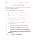 Costa's Levels Quiz