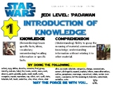 Costa's levels of thinking AVID Mini Posters Star Wars Theme