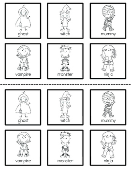 Costume Crazy! {FREE interactive book with predictable text}