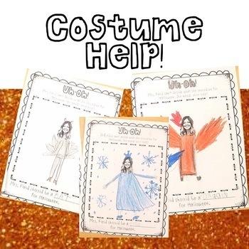Halloween Costume Help