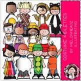 Costume Kidlettes - COMBO PACK - Melonheadz Clipart