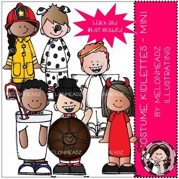 Costume Kidlettes clip art - Mini - Melonheadz Clipart