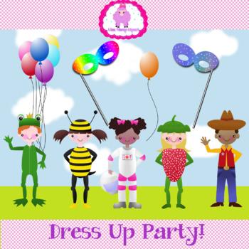 Costume Kids Clip Art