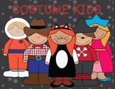 Costume Kids Clipart